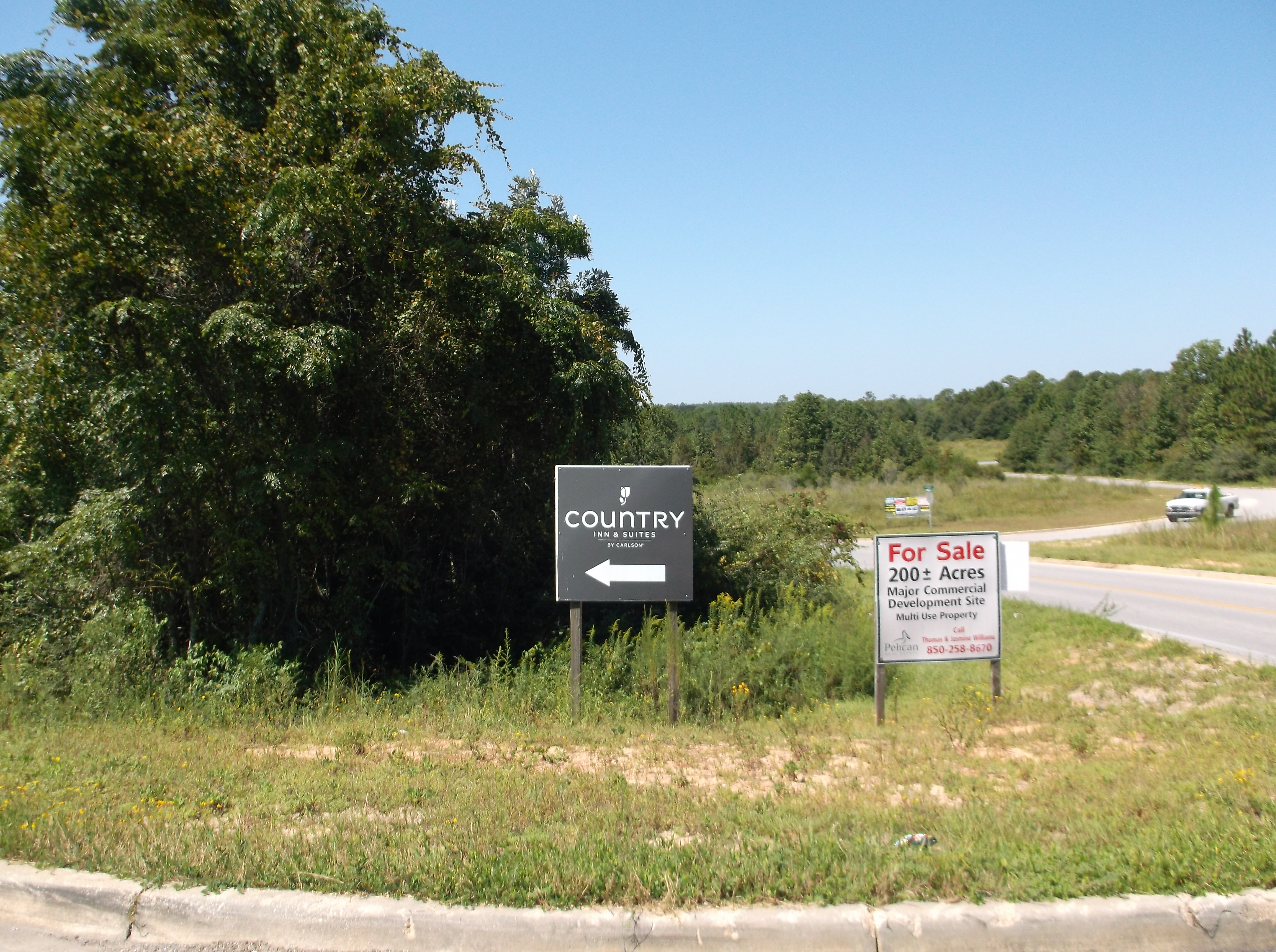 Over 200 acres of prime commercial land in Crestview