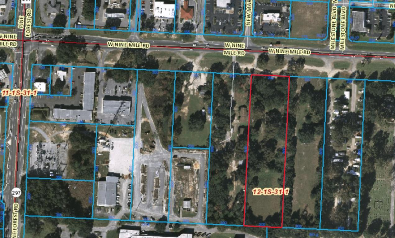 Parcel of undeveloped commercial property with 3.67 acres