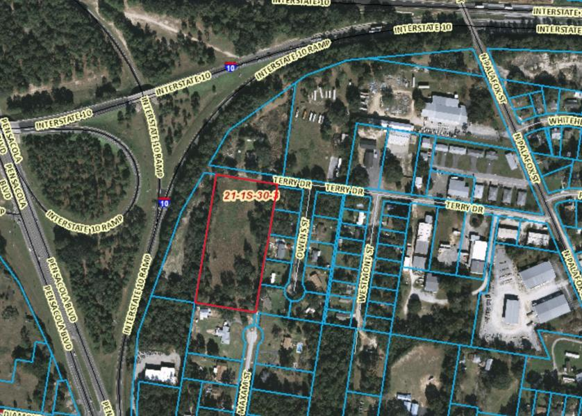 undeveloped commercial property