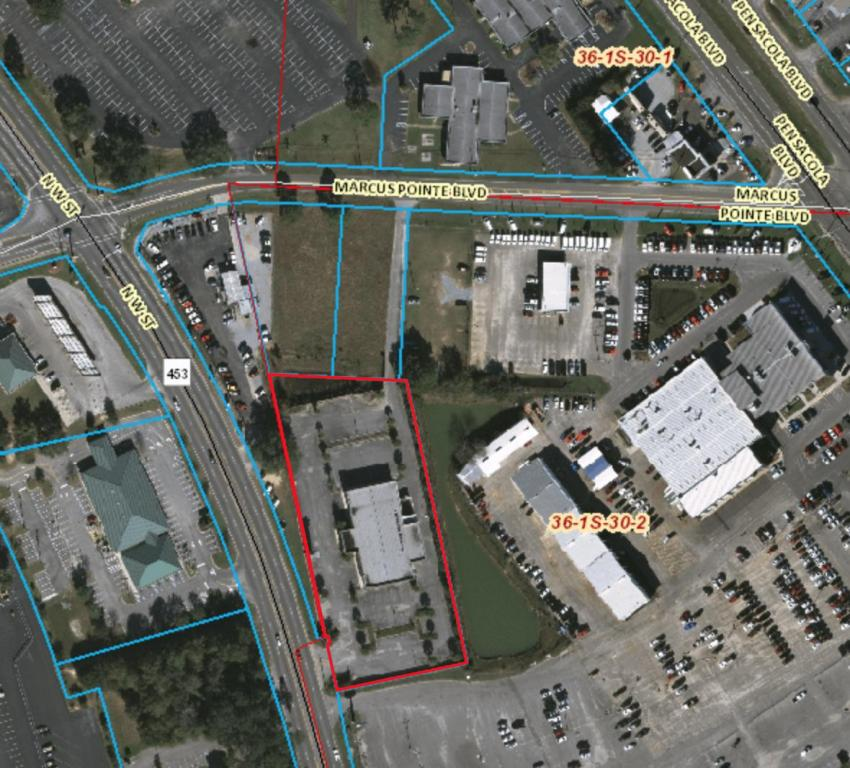 12,033 +/- SF commercial building on approximately 2 acres of land with ample parking